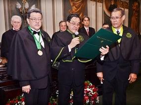 Solenidade de posse de Jorge Luiz Pereira e Silva como Membro Titular da Academia de Medicina da Bahia.