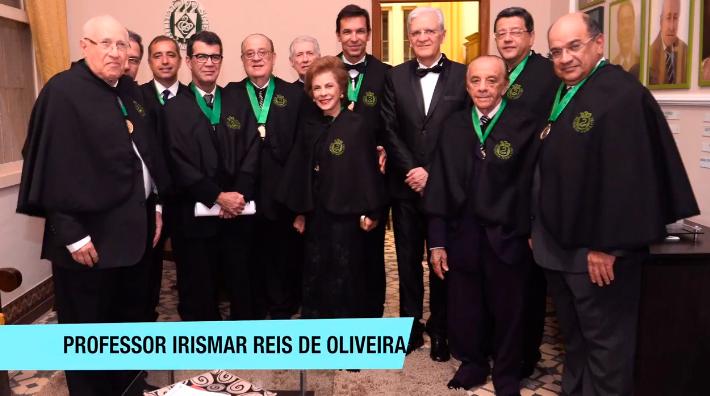 Irismar Reis de Oliveira toma posse na Academia de Medicina da Bahia