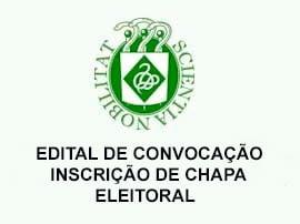 Edital de Convocação Inscrição de Chapa Eleitoral